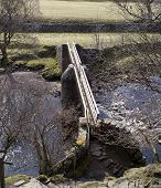 foto of swales  - Bridge over the Swale - JPG