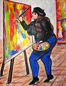 Bbw Artist