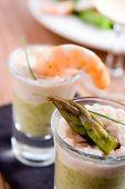 Asparagus And Shrimp Verrines