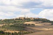 Landscape of Pienza, Tuscany