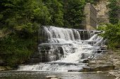 Ithaca, New York waterfall