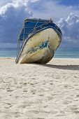 Beached Boat