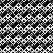 Diagonal Square Pattern Background - Repeating Geometrical Vector Illustration From Squares poster