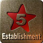 Estabelecimento de 5 estrelas