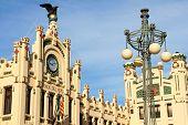 Estación del norte en Valencia, España