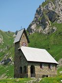 Little Chapel in the mountains