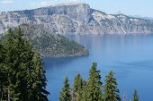 Crater Lake And Wizard Island