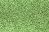 Green Plastic Grass Field Top View Texture