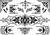 Antique design elements
