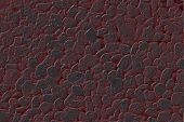Hot Red 3D Stone Textured Background