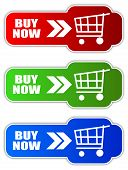 Vector buy now buttons