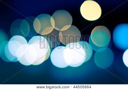 Bokeh Background poster