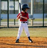 picture of little-league  - little league batter - JPG