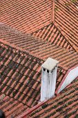 Red Clay Tubular Tiled Rooftops