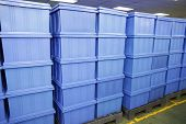 Blue Plastic Box Products.