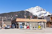 Petro-Canada fuel station Banff
