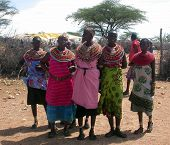 Woman of the Samburu Village