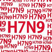 image of avian flu  - H7N9 flu virus concepts new flu virus outbreak in china - JPG