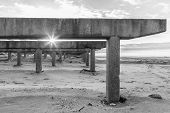 pic of katrina  - Long Island Ruined boardwalk - JPG