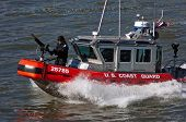 Homeland Security auf dem Hudson River