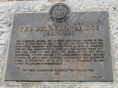 The Brooklyn Bridge designated landmark sign