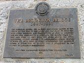 The Brooklyn Bridge designated landmark sign