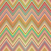 Seamless Colorful Zigzag Pattern