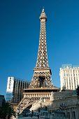Eiffel Tower Restaurant On The Las Vegas Strip