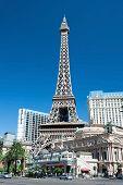 Eiffel Tower Restaurant On The Las Vegas Strip In Nevada