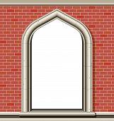 Arch Window, Bricks