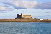 Castle Castillo De San Gabriel In Arrecife; Lanzarote; Canary Islands