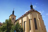 an ancient church in Prague