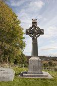 Memorial Celtic Cross In Honor Of Saint Colomba