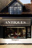 Antique shop in Stratford Upon Avon, England