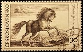 Goltzius Engraving Stamp