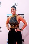 LOS ANGELES - NOV 24:  Jordin Sparks at the 2013 American Music Awards Arrivals at Nokia Theater on