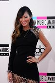 LOS ANGELES - NOV 24:  Aimee Song at the 2013 American Music Awards Arrivals at Nokia Theater on Nov