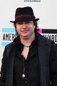 LOS ANGELES - NOV 24:  Kevin Rudolf at the 2013 American Music Awards Arrivals at Nokia Theater on N