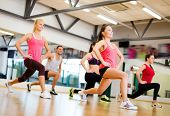 stock photo of group  - fitness - JPG