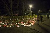 Third day of National Mourning in Baltic Countries