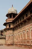 Tower At The Agra Fort