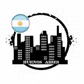 stamp Buenos Aires