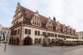 Rathaus (town Hall) In Leipzig