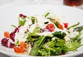 Mixed Green Salad With Creamy Dressing