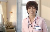 foto of nursing  - Senior nurse at elegant elite nursing - JPG