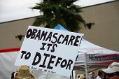 Obamascare Sign