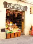 Cefalu Greengrocers Shop