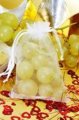 foto of sachets  - sachet with the spanish twelve grapes of luck - JPG
