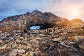 Crab hole, landmark in hongkong Shek O Hok Tsui D'Aguilar Peninsula