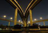 Night View Of Bridge